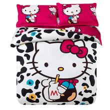 hello kitty bedding edredon baby bedding set 4pcs