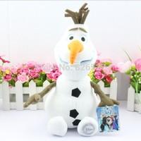 NEW 2014 Children's day gift 10 inch 25cm Cartoon Toys Frozen Olaf Stuffed Animals Plush dolls Baby toys wholesale