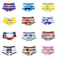 High quality 3 pcs/lot men's Boxer Cotton Cartoon Underwear Lovely & Sexy Men's underwear Free shipping