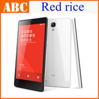 "Original Xiaomi red rice Mobile Phone 3G WCDMA Hongmi Note 4G Qualcomm Quad Core  5.5"" 720 2GB RAM 8GB ROM 13MP OTG GPS Miui V5"