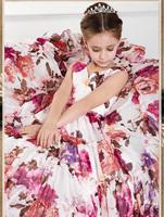 Flower Girl Dresses 2014 Girls Pageant Dresses Girls Princess Dress Summer Party dress   t138
