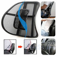 Hot sale! Car Seat Office Chair Massage Seat Covers Support Mesh Ventilate Cushion Pad Free Shipping 1pcs/lot