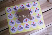 "600pcs/lot  ""thank you "" baking seal sticker label sticker Gift Sticker"