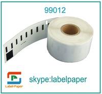 100rollsx Dymo Compatible 99012 Labels  (Dymo 99012 Labels)