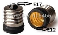 100pcs/lot Lamp Adapter E17 to E12 Adapter Converter,E17-E12 lamp socket converter , Free shipping