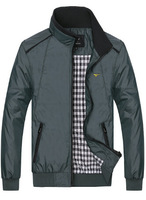 new man spring 2014 free shipping Slim fit thin men's casual jacket  fashion jackets for men coat Good Quality