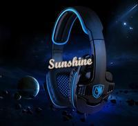Brand New Gaming Headset Headphone Microphone Stereo Earphones With MIC SA-708 b7 SV004186