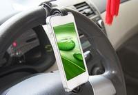 Phone Holder Car Holder Mobile Multifunction Steering Wheel Vehicle Navigation Car GPS Rest Creative Supplies B11 SV003825