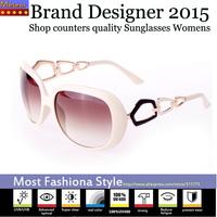 Shop counters quality Market Monopoly sunglasses women brand designer 2015,Advanced CR39 lens glasses sunglass  vintage round
