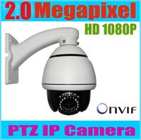 PTZ IP Camera 2 Megapixel 1920*1080P ONVIF 40m IR distance 2mp full hd 1080p mini ip camera ptz 10x optica zoom camera