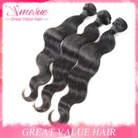 Unprocessed Combodian Virgin Hair Body Wave 4&3pcs Lot Mixed Length 8-30 inch Combodian Virgin Human Hair Extension Free Ship