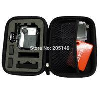 Outdoor Sports Go Pro Accessories Shockproof Portable Bag Ride Storage Bags for Camera Gopro Hero HD Hero 2 3+ SJ4000 Black Case