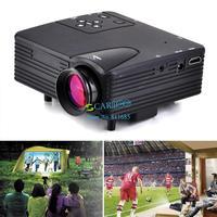 2014 Newest Mini Pico Portable Proyector Led Projector PC AV TV VGA USB HDMI Projector projetor beamer Wholesale B2 OS000438