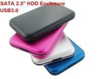 """SATA 2.5"""" USB 3.0 HDD Enclosure (Not  a 1TB Hard Disk) ,2pcs/lot External Hard Drive 1tb  HD External Storage Case, Fast Speed"""