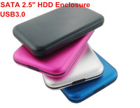"SATA 2.5"" USB 3.0 HDD Enclosure (Not  a 1TB Hard Disk) ,2pcs/lot External Hard Drive 1tb  HD External Storage Case, Fast Speed"