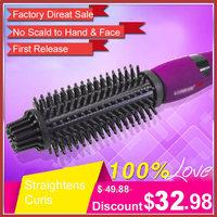 Утюжок для выпрямления волос JINGDING 2 1 Curl 1 EH-HS1013