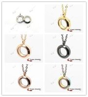 Free Shipping Twist 20mm 316L Stainless Steel Pendant Wholesale Glass Locket