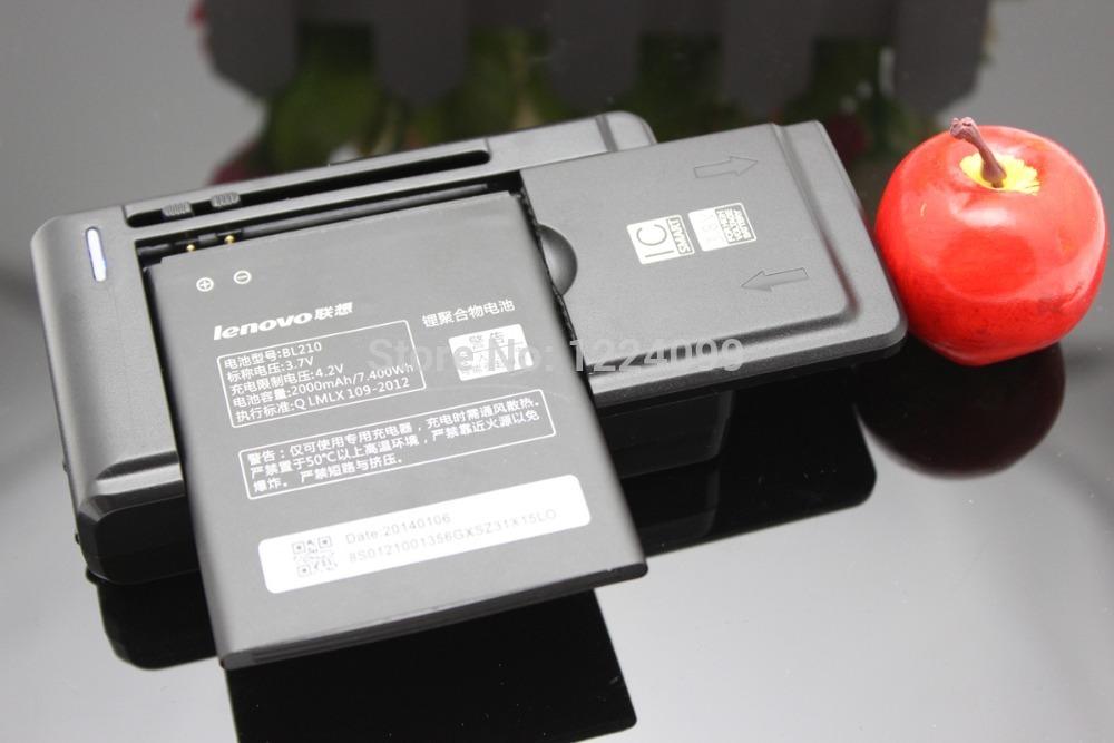 Батарея для мобильных телефонов 100% 2000mAh BL210 Batterie Lenovo S820 S820e A750E S650 S658T A656 A766 A658T + 1 x аксессуар аккумулятор lenovo bl210 partner 2000mah пр034367