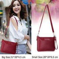 New 2014 Leather Women Shoulder Bag Fashion Small Cluch Bags Crossbody Women's Messenger Bags Bolsas Femininas Satchel