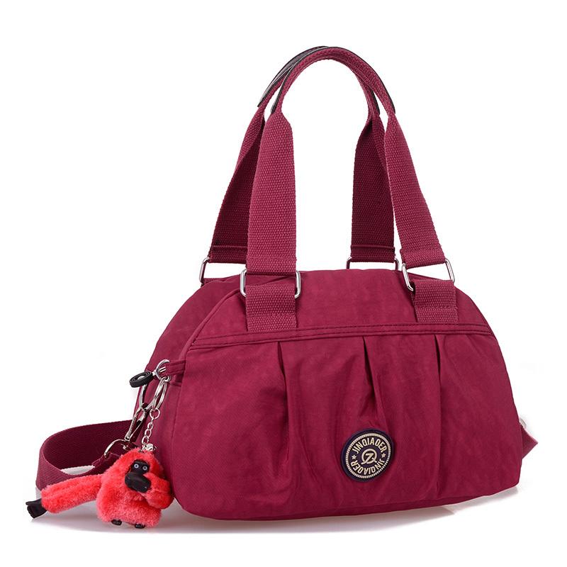2014 women's travel waterproof handbag shoulder messenger bags ladies bolsa sea beach nylon women crossbody monkey tote bags(China (Mainland))