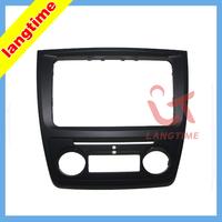 Car refitting DVD frame,DVD panel,Dash Kit,Fascia,Radio Frame,Audio frame for Skoda yeti (Auto AC)