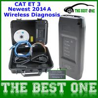 Professional Heavy Duty Truck Diagnostic Tool CAT ET 3 III Multi-Languages CAT Adapter Bluetooth Communication CAT3 Latest 2014A