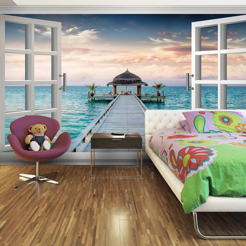 Grote muurschildering behang 3d behang voor slaapkamer dineren kamer keuken achtergrond muur - Wallpapers voor kamer ...