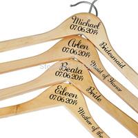 Personalized wedding hangers Decals, Custom Bridal Gift Hangers,Bridesmaid Hangers, Customized Wedding Hangers