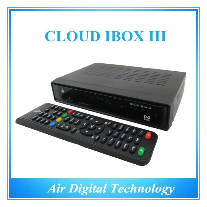 2pcs New Origianl cloud ibox 3 twin hd DVB-S2+T2/C Hybrid tuner best iptv set top box enigma2 linus smart tv box IN STOCK(China (Mainland))