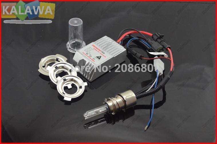 2014 high intensity discharge Motor/Motorcycle Bike Hid Lights Kit H6 Hi/Low Xenon light Headlamp DC12V 35W 6000K Freeship JJJ(China (Mainland))