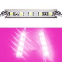 2000Pcs/Lot SMD 5050 5 LED Module Waterproof IP65 DC12V Pink/Purple Color Light Bright Lamp