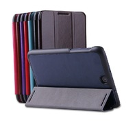 For  Lenovo A3500  A7-50 Tablet PC Tablet Protective Leather Stand flip Case Cover+screen protector protective film+ stylus pen