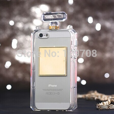 Luxury Perfume Bottle Case For iPhone 6 6 Plus 4 4S 5 5S CC Case For Samsung Galaxy S3 S4 S5 Note 2 3 Grand 2 i9300 i9500 i9600()