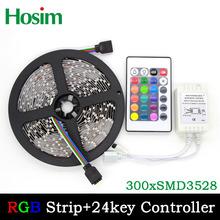 5 m 300 LED 3528 SMD 12 V flexible lumière, 60 LED / m, Led bande, Blanc / chaud blanc / bleu / vert / rouge / jaune / rgb(China (Mainland))