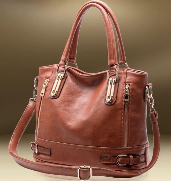 High quality genuine leather women's handbag new fashion handbag for women shoulder big bags free shipping Desigual Brand Q9(China (Mainland))