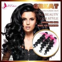 1pc Only! Peruvian Virgin Hair Online Loose Wave Cheap Human Hair Weaves Natural Black 60g/pc Unprocessed Peruvian Hair