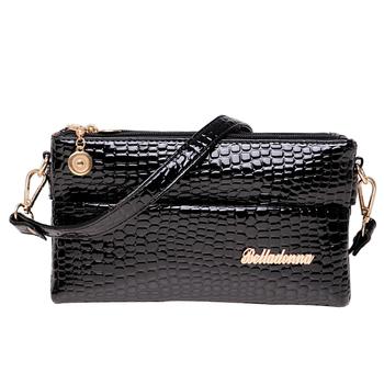 Bolsas Femininas малый крокодил картина Desigual женщины сумки-женские сумочка 2014 новый черный клатч