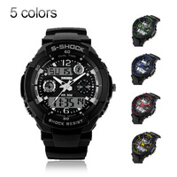 Sports watches men digital Led clocks watch 2 time zone quartz Military army jelly swim 30ATM Dress watches men Wristwatches