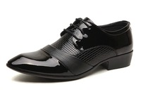 2014 Business PU Leather Shoes,Wedding Shoes,Fashion And Breathable Soft Oxfords,Laced-up Pointed Toe Shoes,XMP061