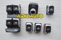 OEM Original Chrome Side mirror switch+Master window switch FOR VW Audi Q5 A4 B8 S4 B8 Q5 A5 09-2012