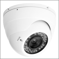 800TVL Sony Effio-A Sensor Security CCTV day and night infrared 36 IR LED vandalproof CCD Camera with 2.8-12mm KA-307BAM