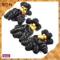 Cheap Hair Weaves Grade 6a Virgin Hair Best Quality Aunty Funmi Hair Bouncy Curly 4pcs Lot Brazilian Funmi Hair Romance Curly