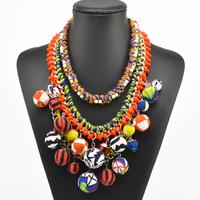 2014 European Za Brand Fashion Crystal Necklaces & Pendants Vintage Luxury Chunky Choker Big Collar Necklace Statement 8734