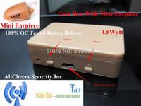 High Quality powerful 4.5Watt topro gsm box invisible 305 mini earpiece