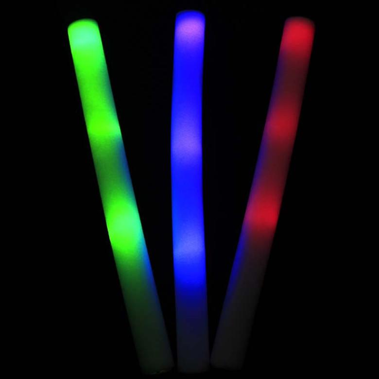 decoracao festa glow:10-pcs-Glow-sticks-2015-colorido-esponja-de-espuma-varas-10-pcs-led