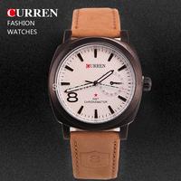 Curren Brand Men Sport Watches Casual Leather Strap Watch Fashion Man Quartz Clock Military Watches MN4944
