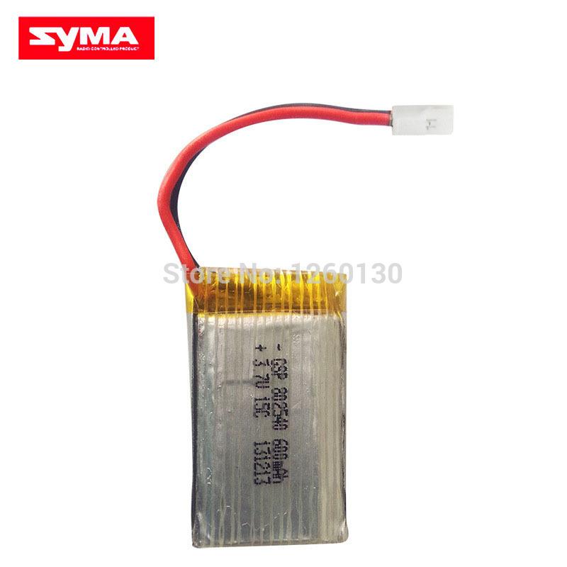 SYMA X5C 3.7V 600mAh Original Battery for Syma X5 X5C X5A Quadcopter Ar.Drone With HD Camera Extra Spare Parts Accessories(China (Mainland))