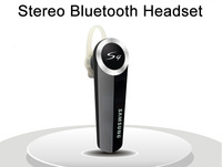 2014 Wireless Handsfree Stereo Bluetooth Headset Ear hook For Samsung Galaxy S3 S4 Note 2 III iPhone 5S 4S