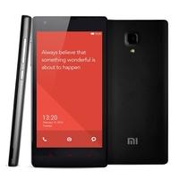 Original Xiaomi Redmi 1S Red Rice Hongmi 4.7 Inch 1280*720 MSM8228 Quad Core Cell Phone 8GB ROM 1GB RAM WCDMA GSM English WIFI