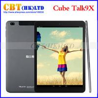 NEW Cube Talk 9X U65GT MT8392 Octa Core 2.0GHz Android 4.4 Tablet PC 9.7 inch 3G Phone Call 2048x1536 IPS 8.0MP Camera 2GB/32GB